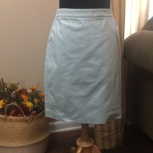 Cabi Misty Blue Pencil Skirt